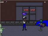 Screenshot of 'Escape From Zombie City'